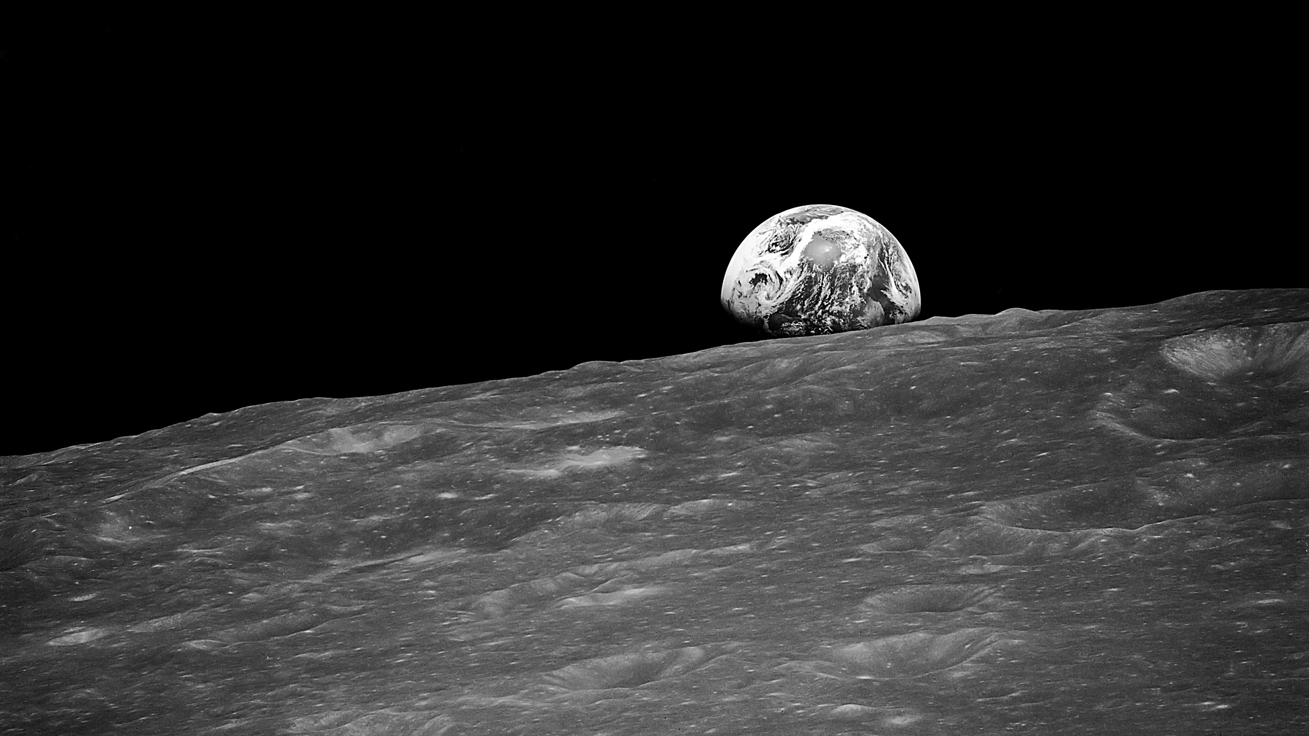 Earthrise [2340x2327] : space