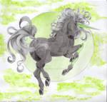 Emerald Telesto-charadesign