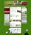 Golfclub website by fuxxo