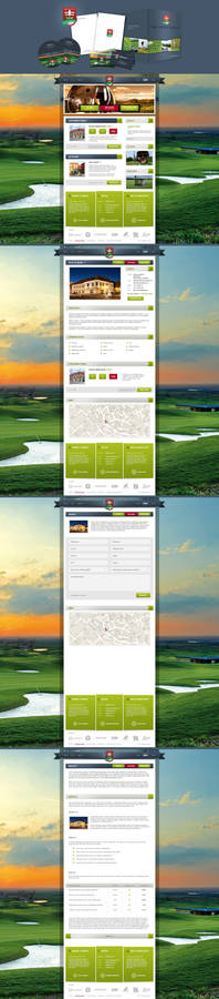 Golf Resort Skalica Corporate identity