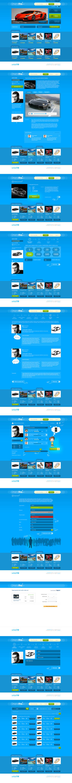 DreamsBag.com website design