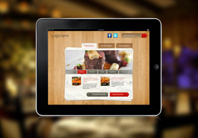 iPad Tab Style Content free PSD by fuxxo
