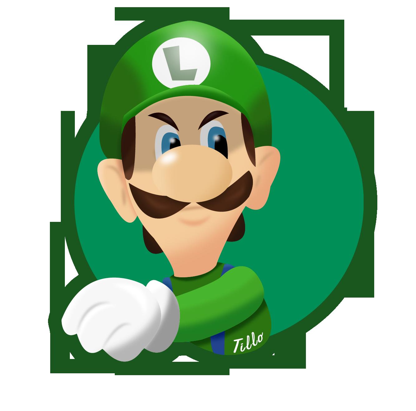 Luigi S Death Stare By Tillo27 On Deviantart