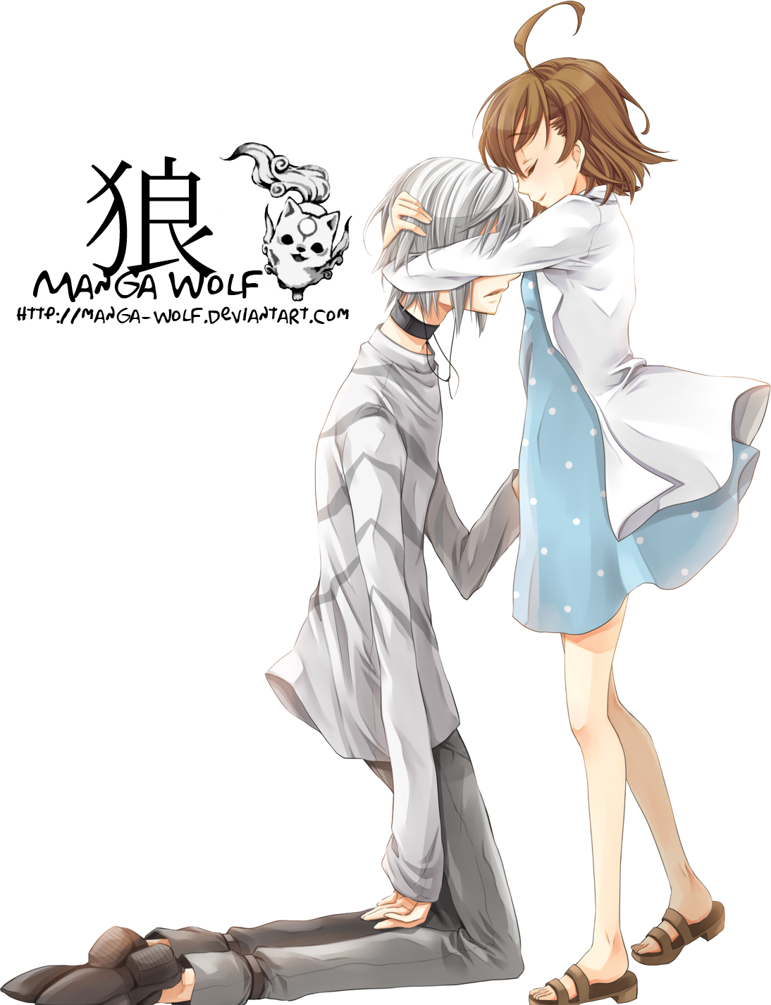 Accelerate hugging girl render 1 by manga wolf on deviantart - Anime boy hugging girl ...