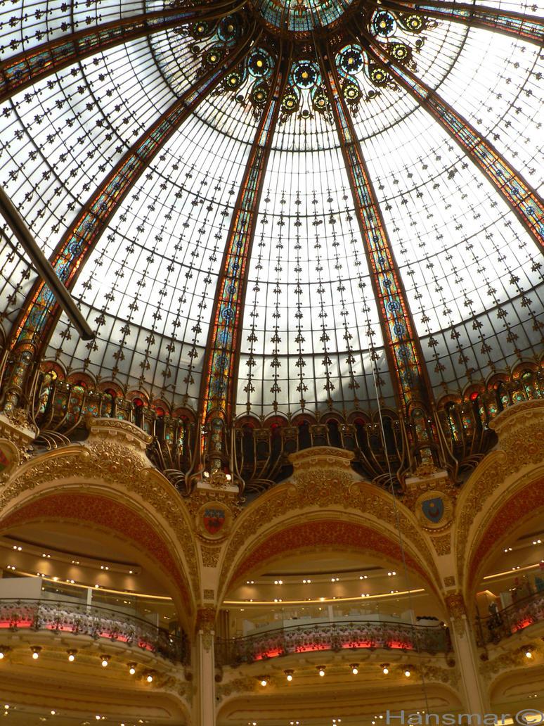 Galerie Lafayette Paris by Hansmar