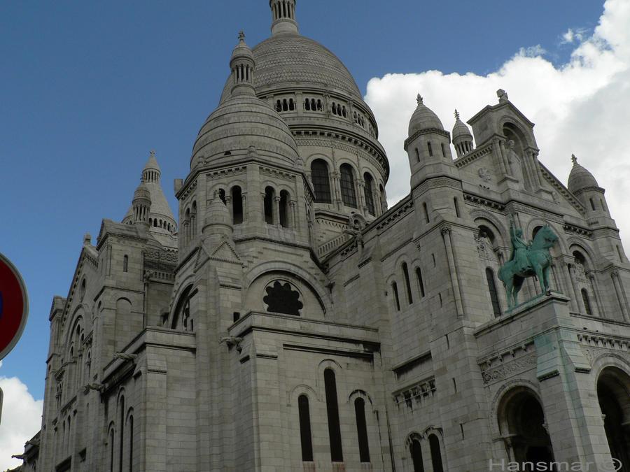 Basilique du Sacre Coeur Montmartre by Hansmar