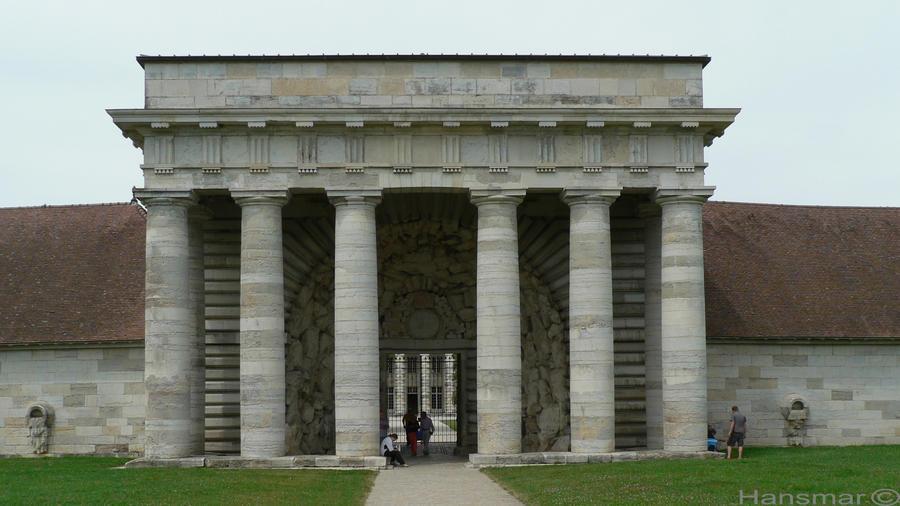 Entrance Saline Arc et Senans by Hansmar