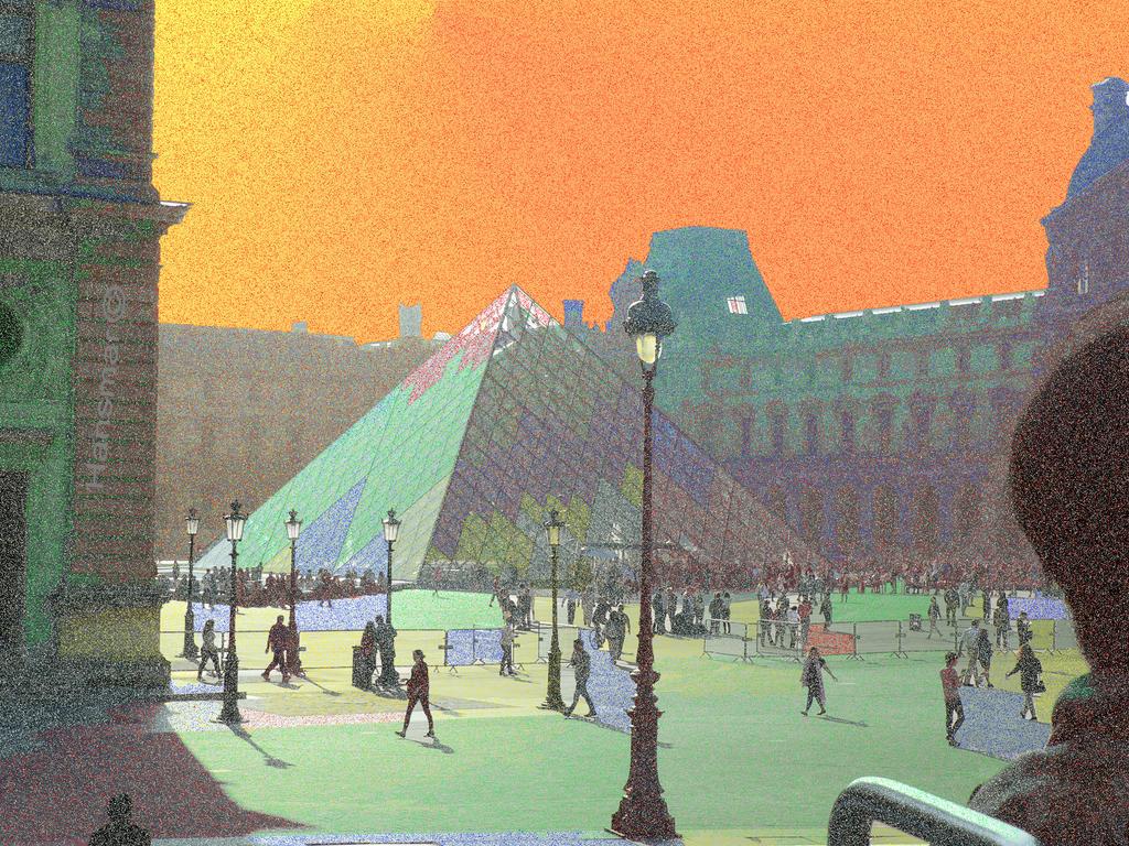 Louvre goes Orsay by Hansmar