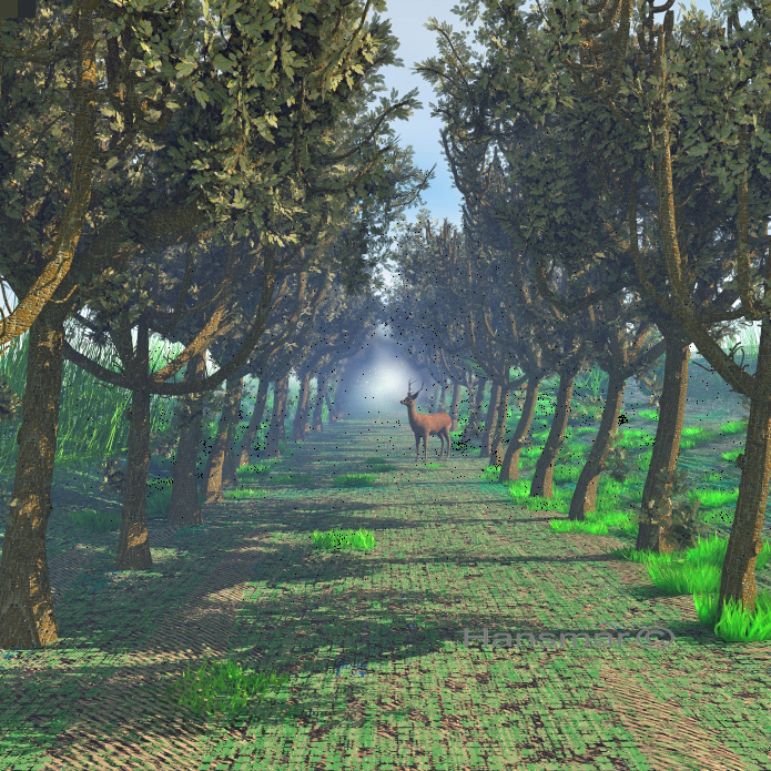 Treeline by Hansmar