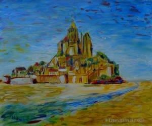 Mont Saint Michel by Hansmar