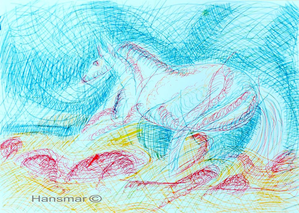 Horse Variations 9 by Hansmar
