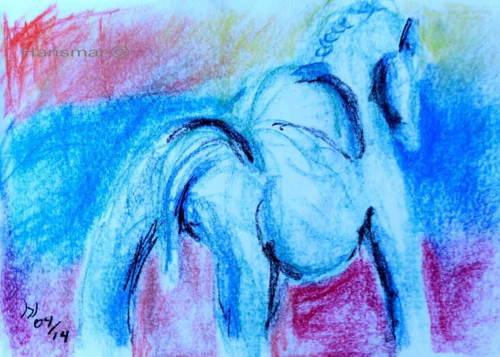 Strong horse by Hansmar