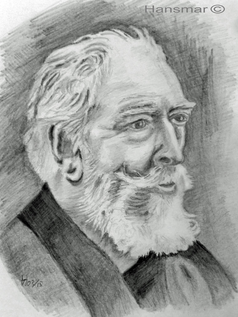 James Ensor by Hansmar