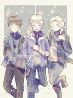 Bad Touch Trio by 15bellyusvita