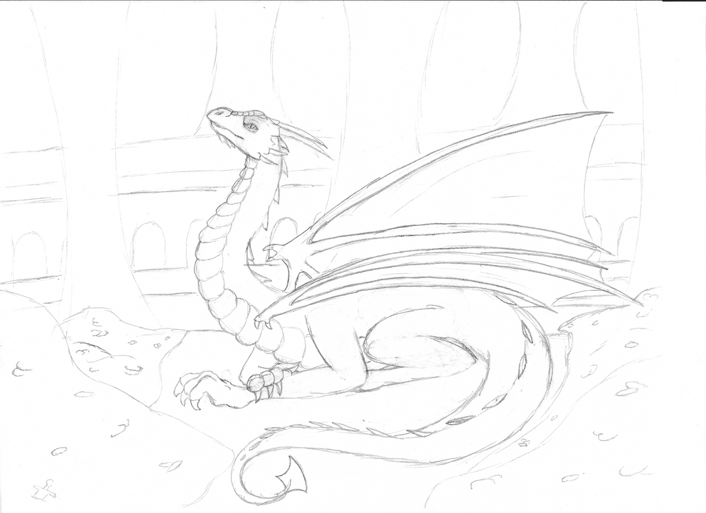 Pic Of The Hobbit Smaug Coloring Page