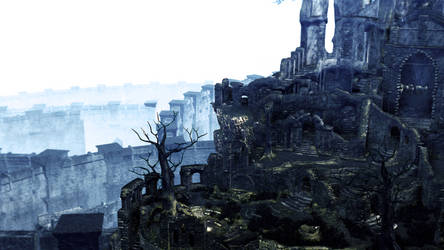 Dark Souls - Firelink Shrine by samsa1909