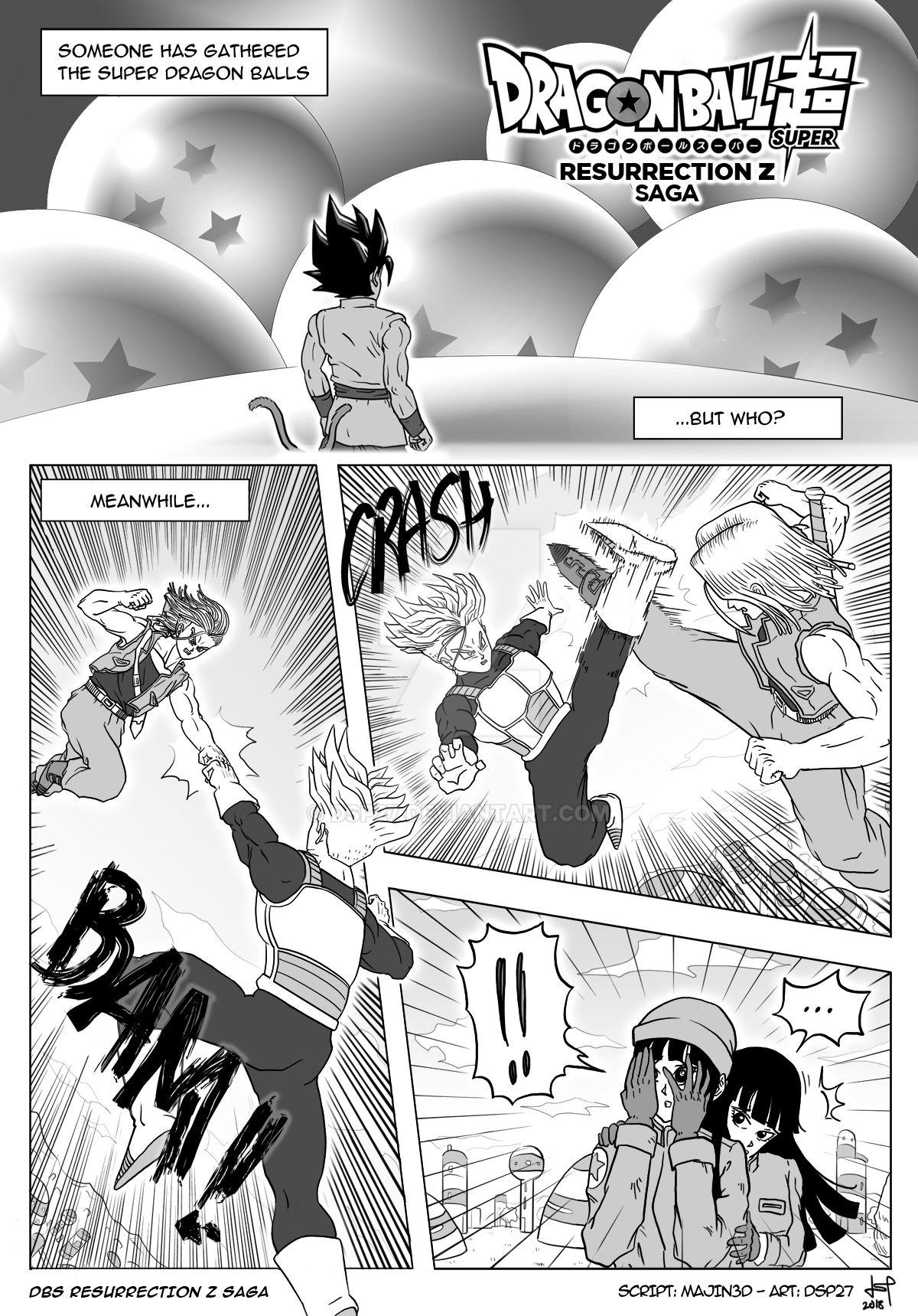 Dragon Ball Super Resurrection Z Saga by Majin3D by dsp27 on