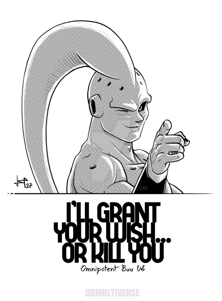 Buu DBM U4 - Famous quote by dsp27