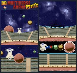 DB Multiverse Arena Sprite