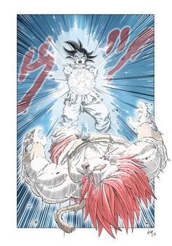 Goku vs Broly - DB Super-Next Level - Ep.109