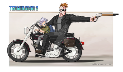 Crossover Terminator--Dragon Ball Z