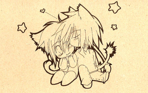 Albel Fayt Chibi Kiss by Eiri27 on DeviantArt