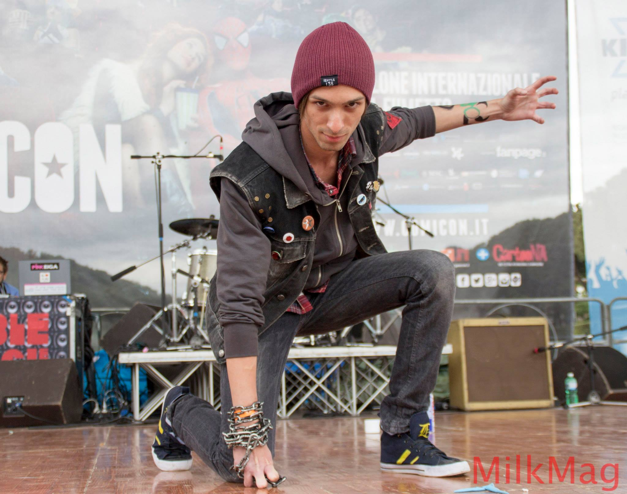 Infamous Second Son Eugene Cosplay