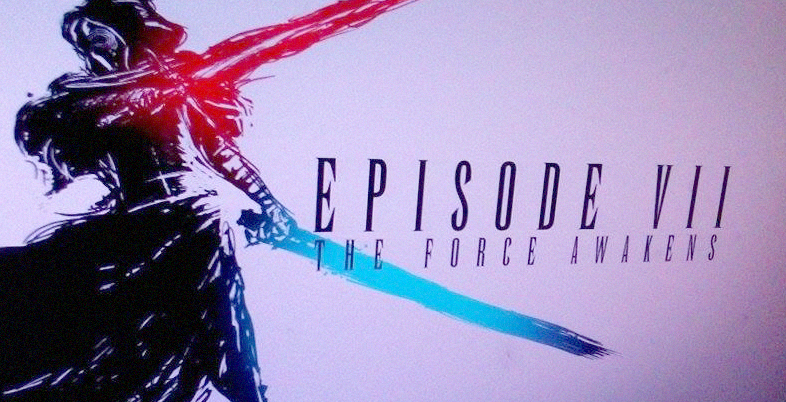 The Force Awakens X Final Fantasy logo / WIP by illusivecompulsive