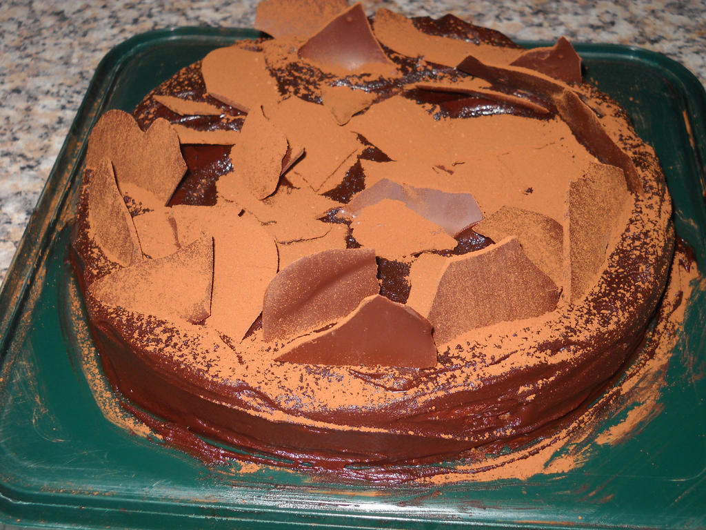 Queen of Sheba cake by Bisected8