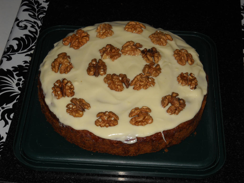 Carrot and Walnut Cake by BisectedBrioche on DeviantArt