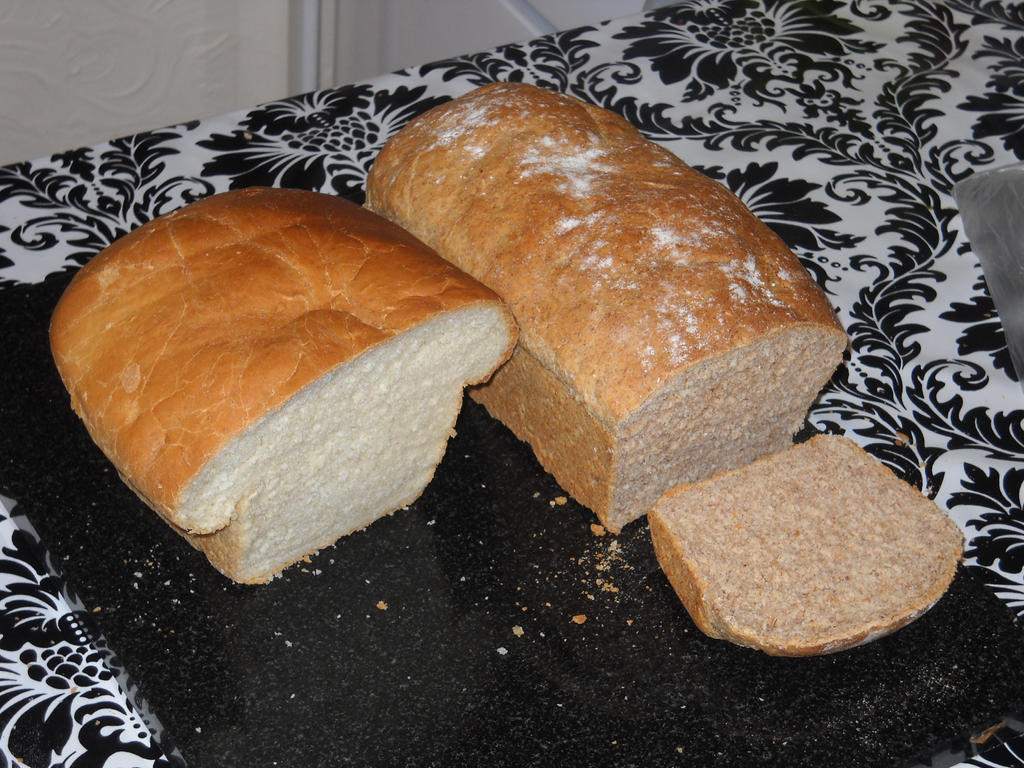 Wholemeal Bread by Bisected8