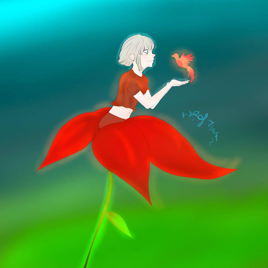 Aurora by Hraf-san