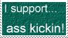 Ass Kickin Stamp by Auras