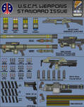 Weapons of the U.S.C.M. page 1