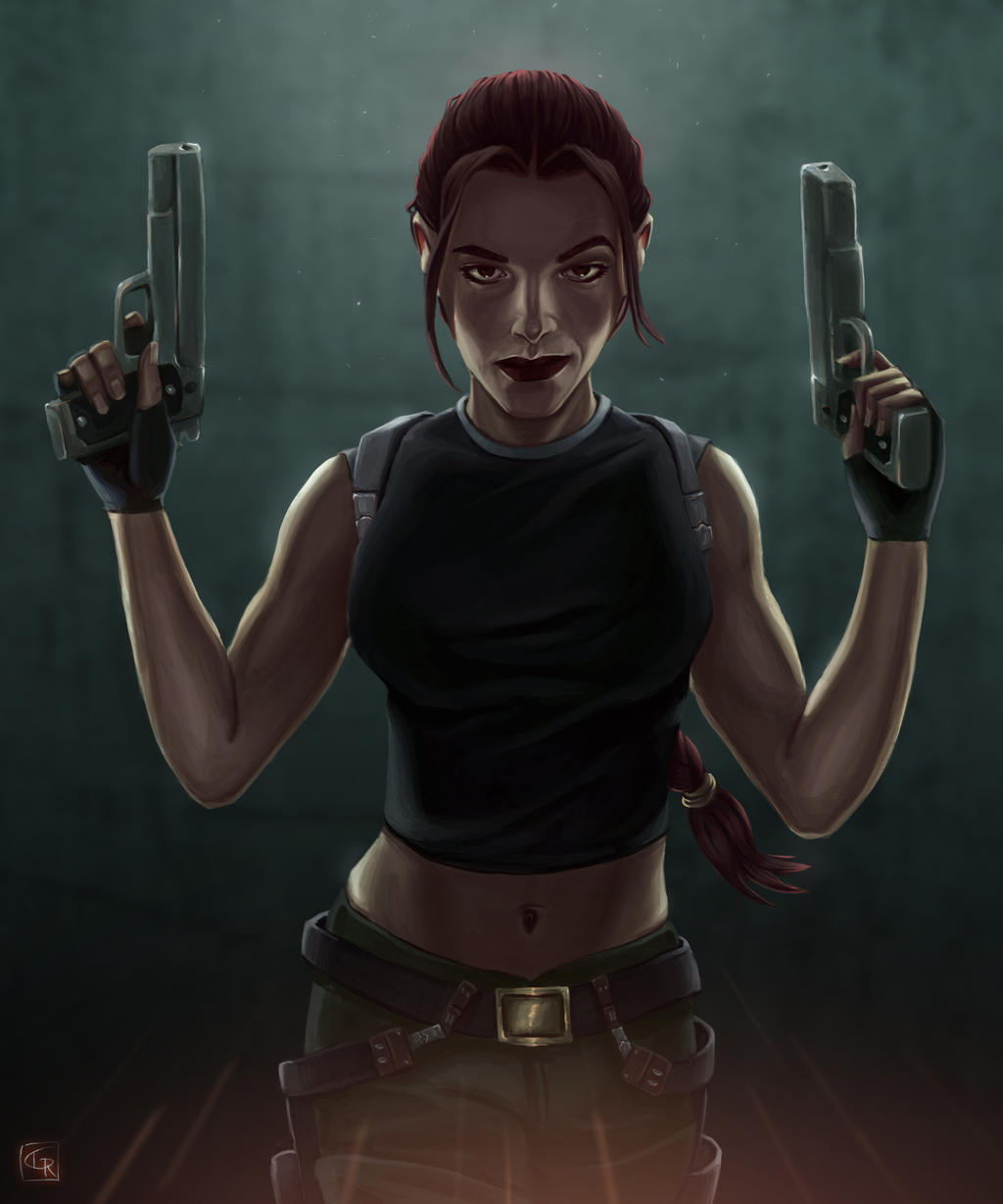 Lara Croft - Tomb Raider : Angel of Darkness by Rom1-123