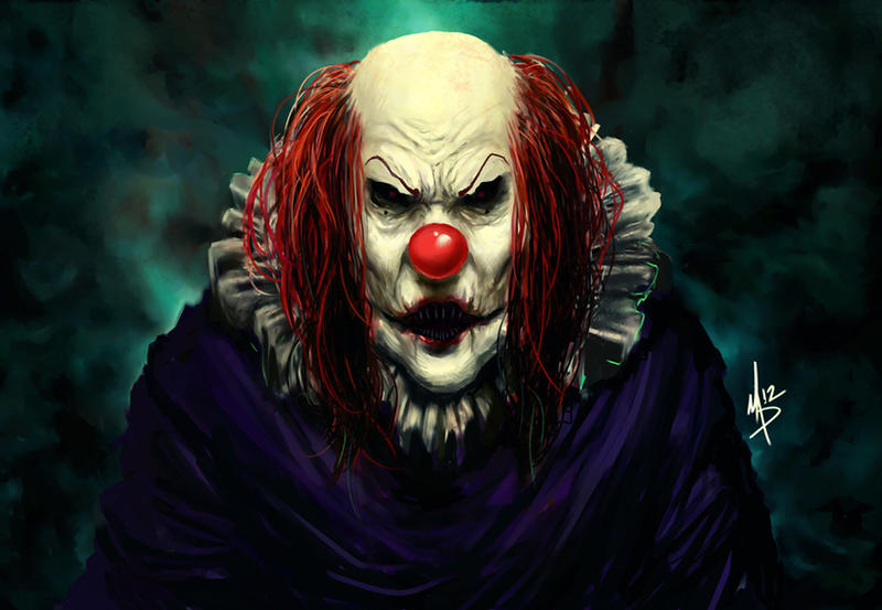 Clown by madstalfos
