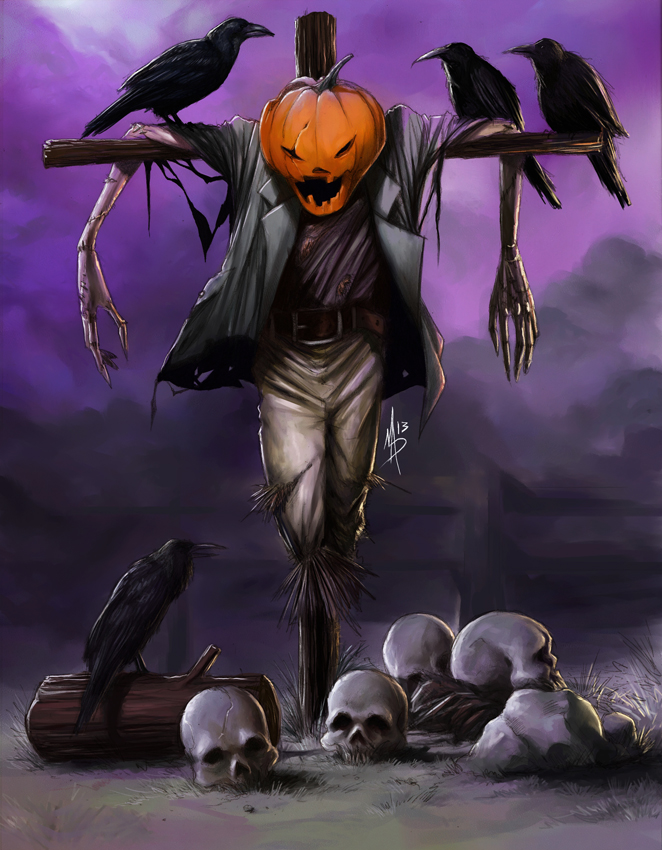 The scarecrow by madstalfos