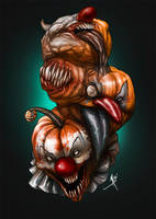 Clowntober 7 of 7 by madstalfos