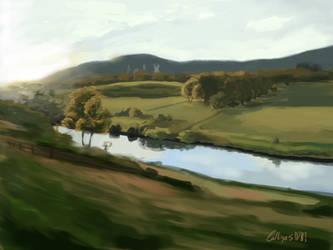 Landscape Study 2 by Calliope5