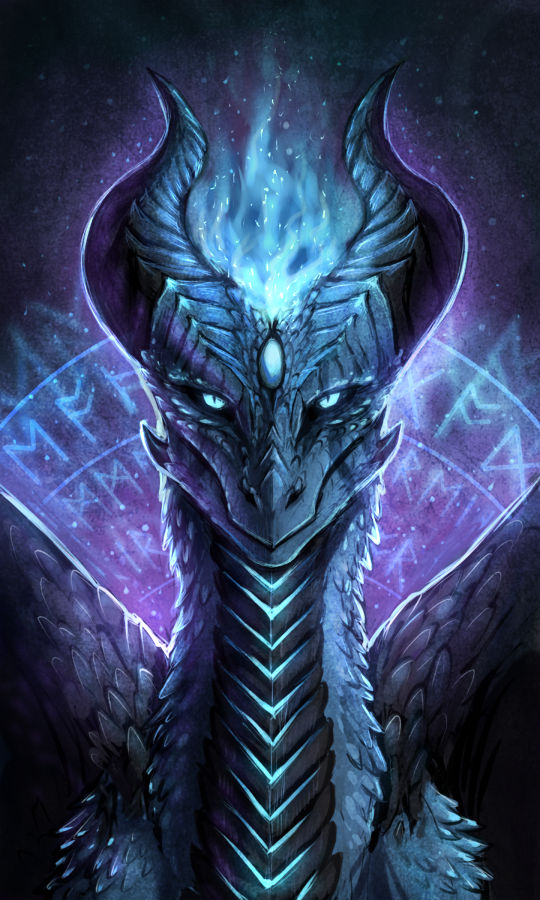 Kyrie the Frost Dragoness
