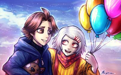 Balloons by Vaelkyrie