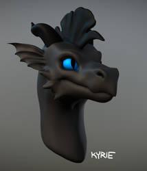 [3D MODEL] Blueeye by Vaelkyrie