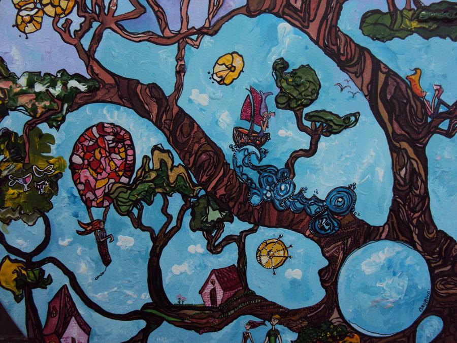 Plantando un arbol by AnyAlva