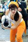 Hipster Chell Cosplay- 02