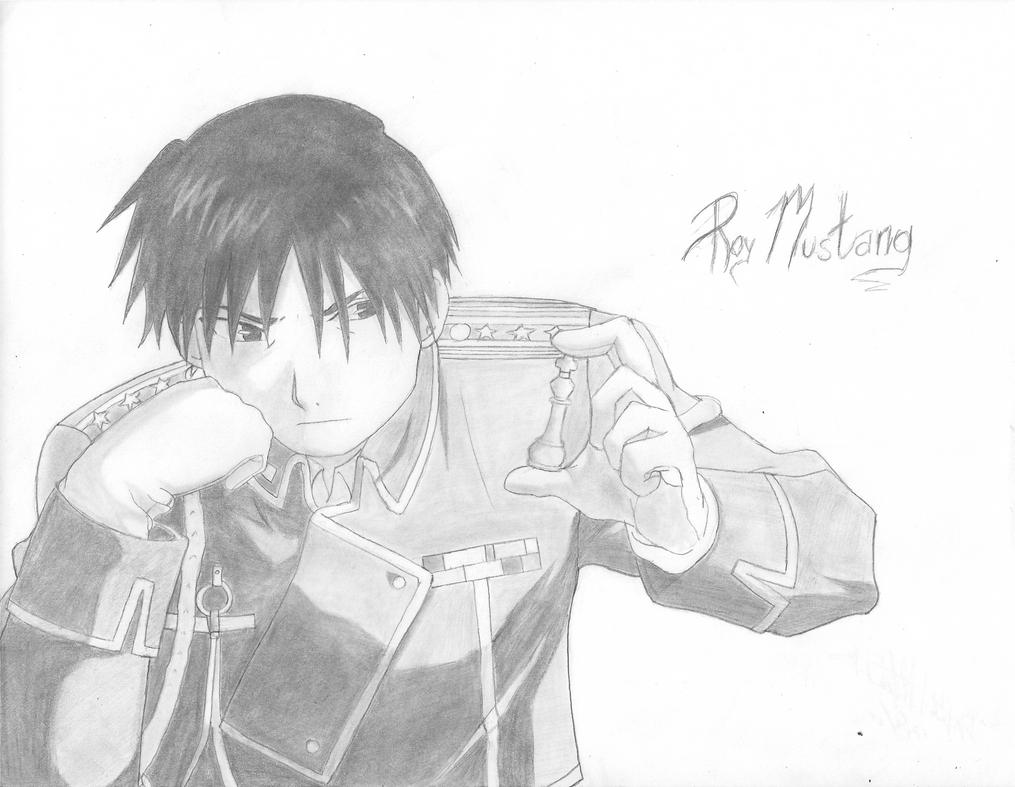 Roy Mustang~ by MusicLova4eva