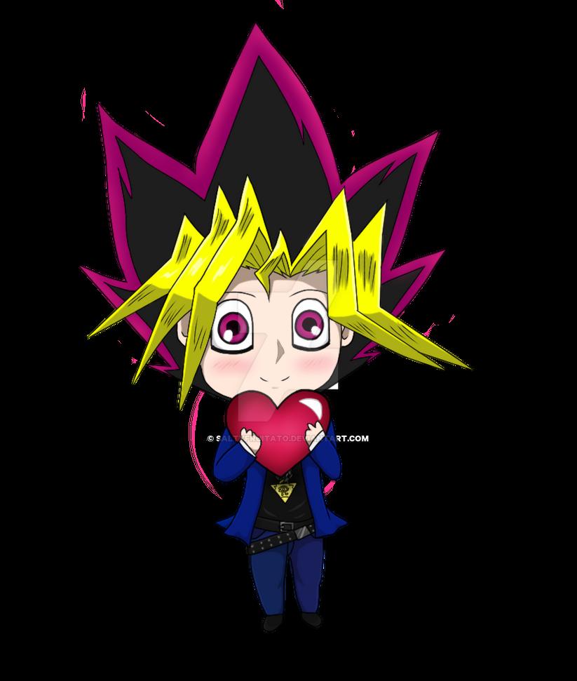 Chibi Yugi - Colored by MusicLova4eva