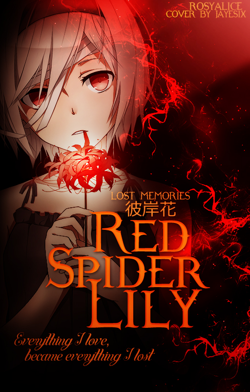 (wattpad cover) Red Spider Lily by jLpanganiban