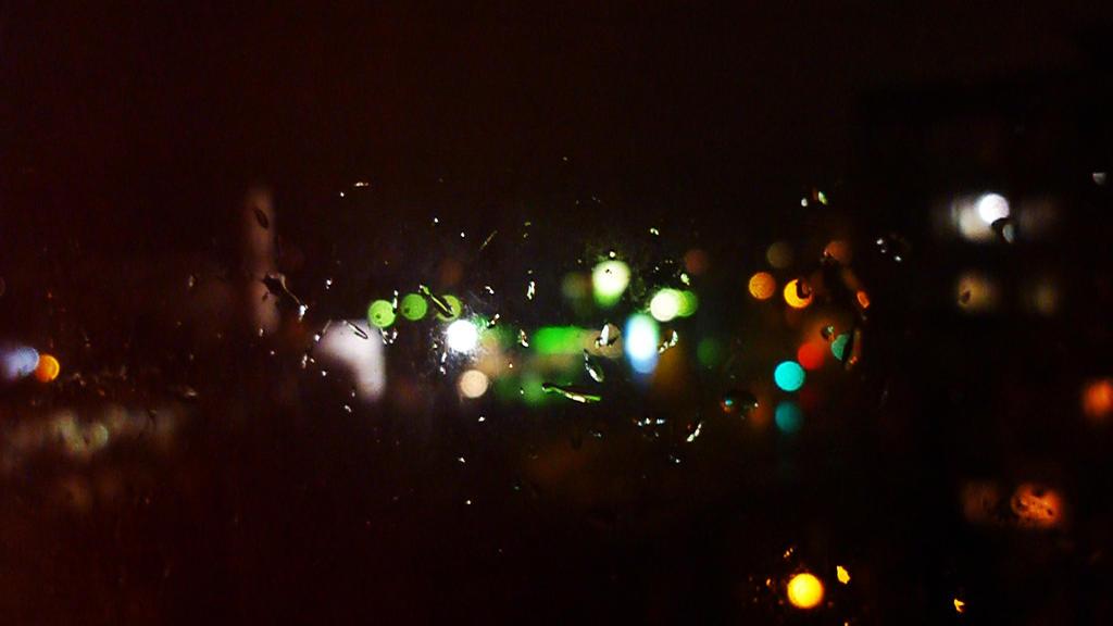 City Night Street Lights