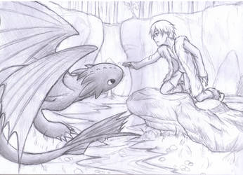 How To Train Your Dragon by Fuyukichi