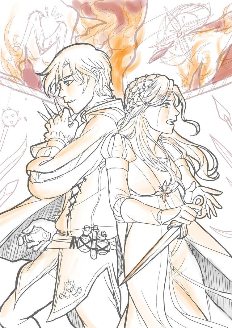 Romeo and Juliet- Sketch by Fuyukichi ...